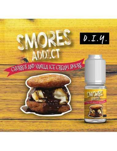 Smores Addict Aroma Churros and Vanilla Ice Cream 10ml
