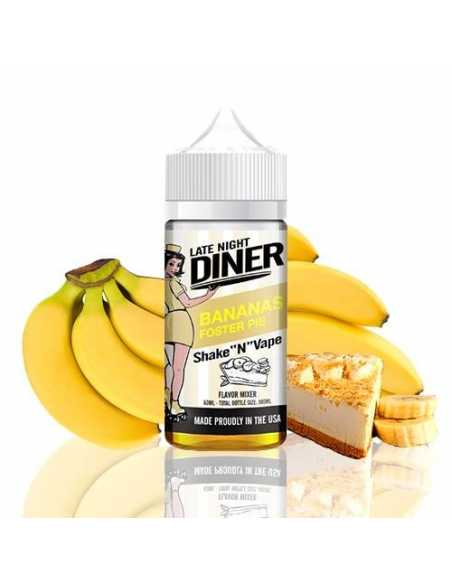 Halo Late Night Diner Bananas Foster 50ml
