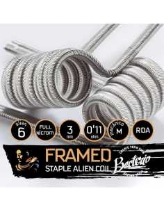 Bacterio Coils Framed Staple Full N80 Alien 0.11 Ohm