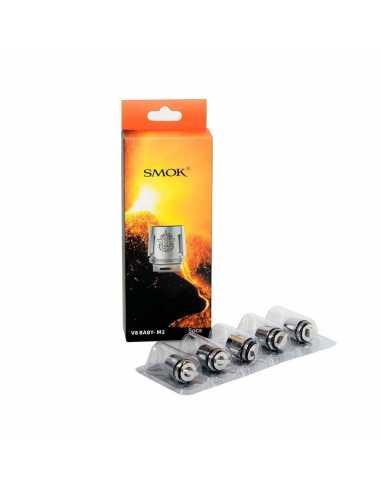 Smok Resistencia TFV8 Baby M2 0,25 ohm (Pack 5 unidades)