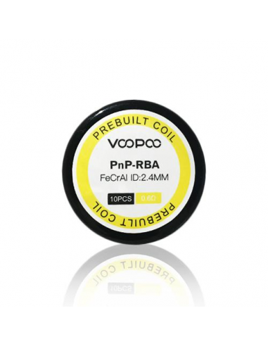 Voopoo PnP RBA Prebuilt Coil (Pack 10)