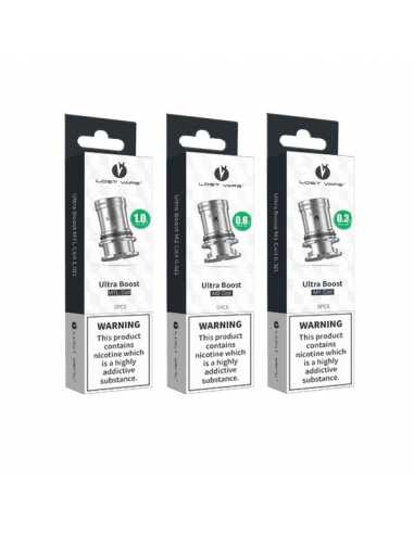 Lost Vape Ultra Boost Coil Orion Q Ultra (Pack 5 Unidades)