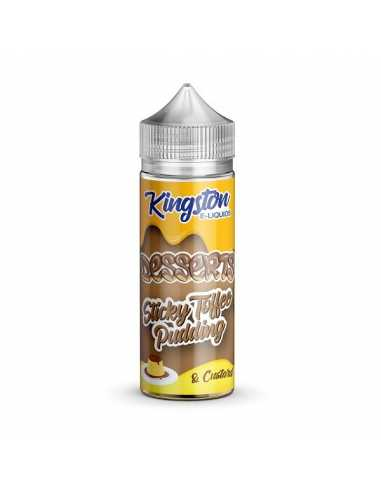 Kingston E-liquids Sticky Toffee 100ml