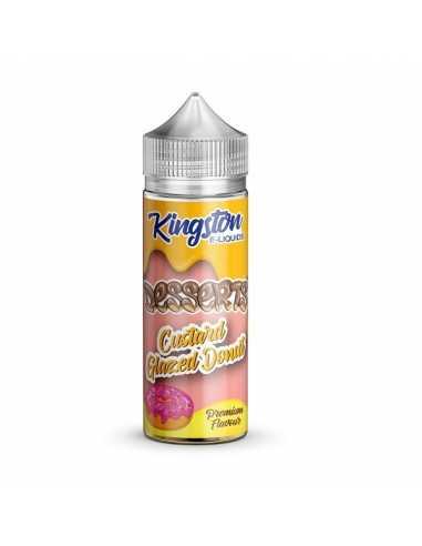 Kingston E-liquids Custard Glazed Donut 100ml