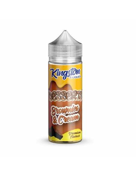 Kingston E-liquids Brownies and Cream 100ml