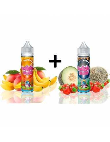 Pack Bubble Island Mango N Banana / Melon N Straw 50ml