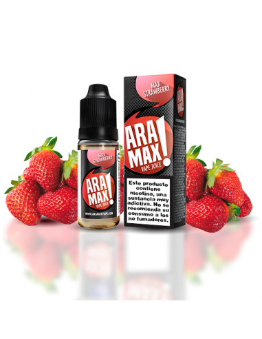 Aramax Max Strawberry 10ml