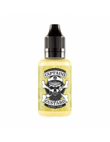 Captains Custard Lemon Curd 30ml