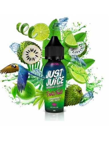 Just Juice Exotic Fruits Guanabana Lime Ice 50ml