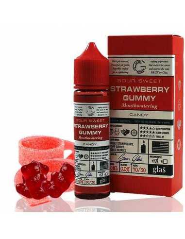 Glas Basix Series Candy Sweet Sour Strawberry Gummy 50ml
