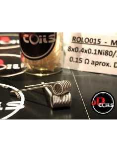 JD Coils Rolo 0.15 ohm