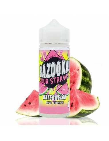 Bazooka Sour Straws Watermelon 100ml