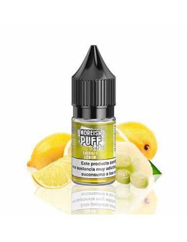 Moreish Puff Sherbet Salts Lemon 10ml